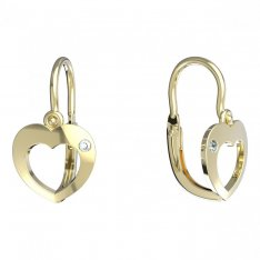 BeKid, Gold kids earrings -827