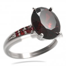 BG ring oval stone 479-J