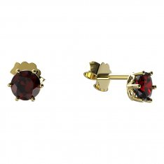 BG garnet earrings - 1294
