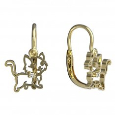 BeKid, Gold kids earrings -1184