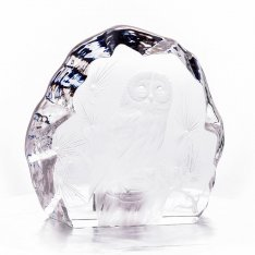 Hand manually engraved owl Aida SRQA0DR16