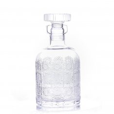Hand cut crystal bottle H20 SR0QHDL38