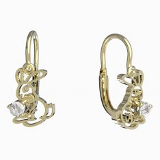 BeKid, Gold kids earrings -1186