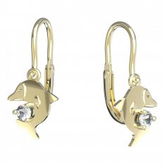 BeKid, Gold kids earrings -1271