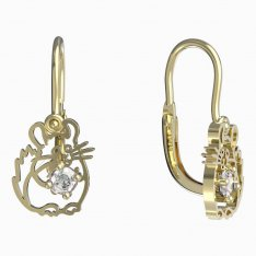 BeKid, Gold kids earrings -1192