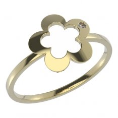 BeKid, Gold kids ring -832