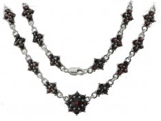 BG garnet necklace 036
