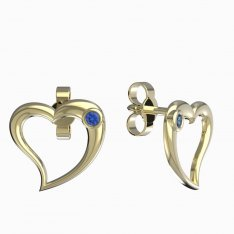 BeKid, Gold kids earrings -1268