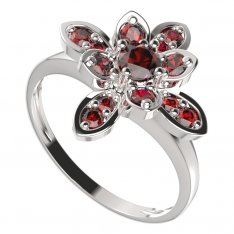 BG ring flower 404-I