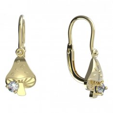 BeKid, Gold kids earrings -1272