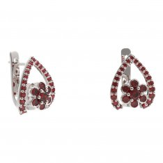 BG earring flower 518-90