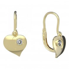 BeKid, Gold kids earrings -1283