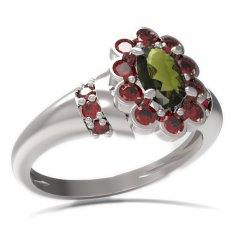BG ring oval stone 517-K