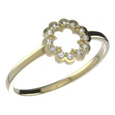 BeKid, Gold kids ring -855