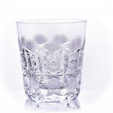 Set of two crystal handmade whiskey Šafránek 657 ORQQI0410