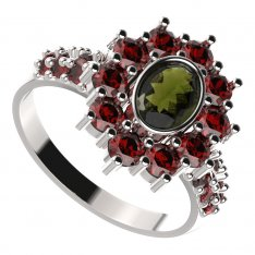 BG ring 018-X oval