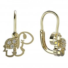 BeKid, Gold kids earrings -1187