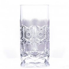 Set of two crystal hand cut water drains Šafránek 632 ORQQI0398