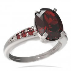 BG ring oval stone 493-J