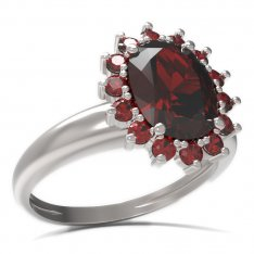 BG ring oval 516-I