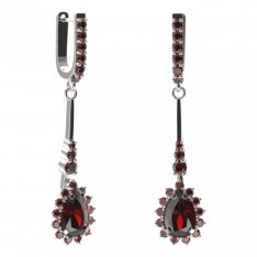 BG earring drop stone  505-B94