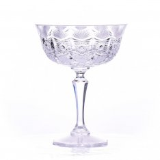 Set of two crystal hand cut glasses Šafránek 642 ORQQI0415