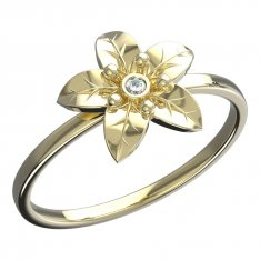 BeKid, Gold kids ring -812