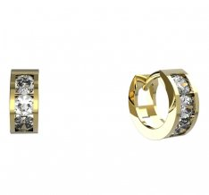 BeKid, Gold kids earrings -1247