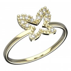 BeKid, Gold kids ring -846