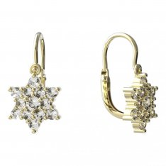 BeKid, Gold kids earrings -090