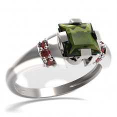 BG ring square stone 496-K