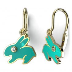 BeKid, Gold kids earrings -1285