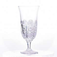Set of two crystal hand cut beer cups Šafránek 639 ORQQI0026