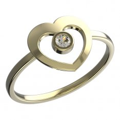 BeKid, Gold kids ring -848