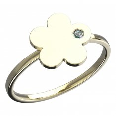 BeKid, Gold kids ring -852