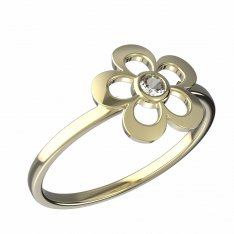 BeKid, Gold kids ring -833