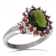 BG ring oval stone 516-K