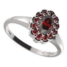 BG ring oval 433-I