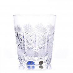 Set of two crystal handmade whiskey Šafránek 659 ORQQI0084