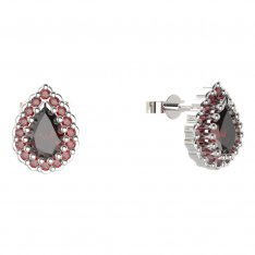 BG earring drop stone -  454