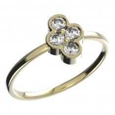 BeKid, Gold kids ring -295