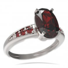 BG ring oval stone 492-J