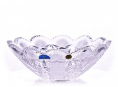 Hand cracked crystal bowl Šafránek 381 ORQQI0477