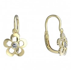 BeKid, Gold kids earrings -833