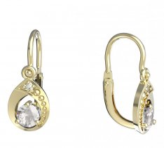 BeKid, Gold kids earrings -1242
