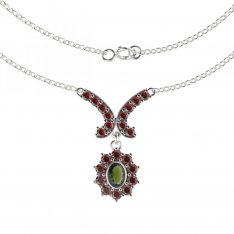 BG garnet necklace 018