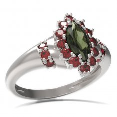 BG ring oval stone 504-K