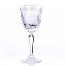 Set of two hand cut crystal cups Šafránek 2946 ORQQI0128