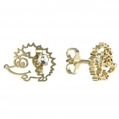 BeKid, Gold kids earrings -1201