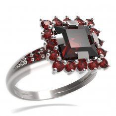 BG ring square stone 499-J